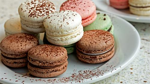 Specializing in French macarons