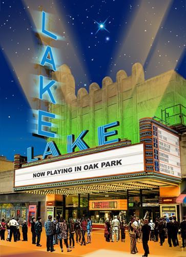 Lake Theatre regular souvenir poster