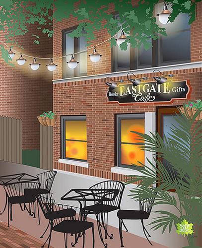 Eastgate Cafe souvenir print