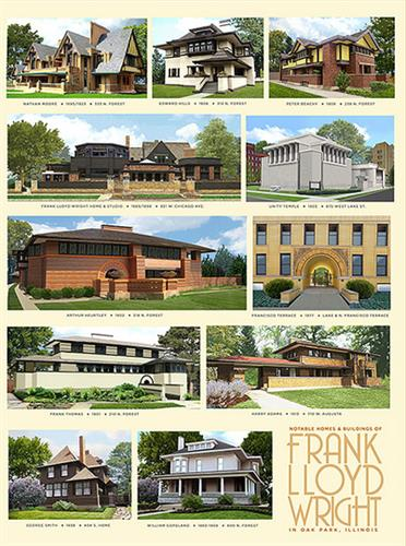 Wright Homes poster