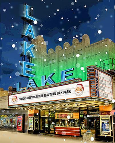 Lake Theatre Holiday souvenir poster