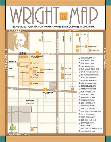 Wright Map / self-guided walking tour