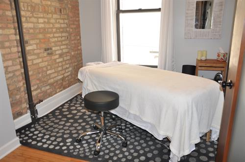 Biodynamic Craniosacral Therapy Treatment Room