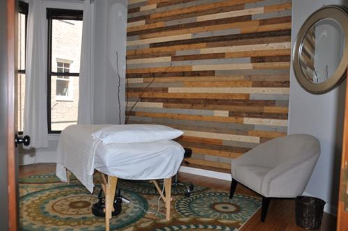 Massage Therapy Treatment Room