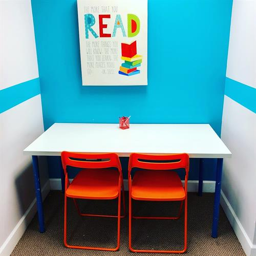 Read to learn station!