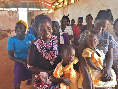 WGEP Adult Literacy Class in Kenya