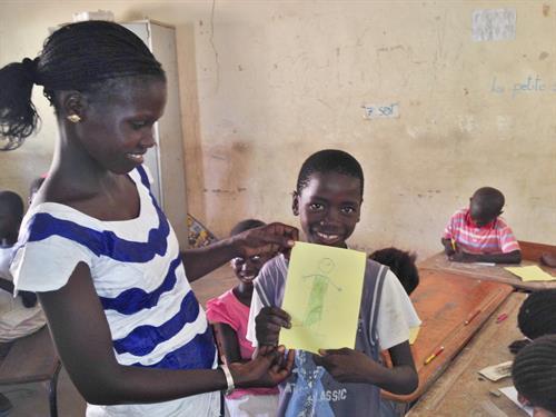 WGEP Literacy Program in Senegal
