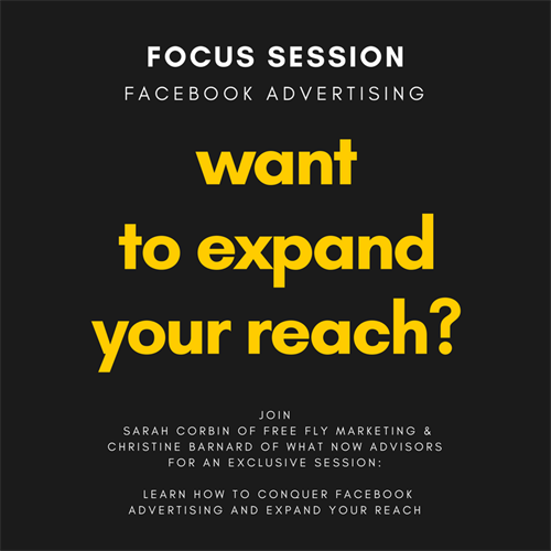 Stay tuned for Marketing Focus Sessions rolling out all through 2018!