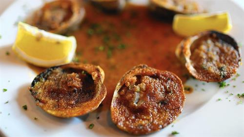 "Our riginal Italain Bake Clams ""Vongole Casino"" A mio modo!!!"