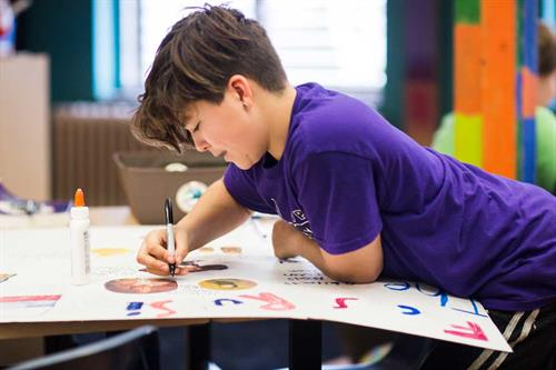 Individual and group projects form the foundation of our classroom curriculum.