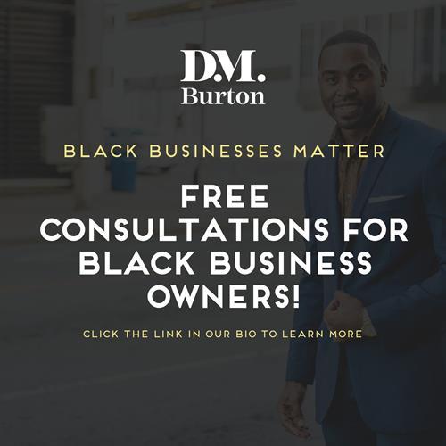 D.M. Burton   Free Consultation Program