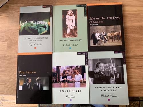 Some of our BFI books available