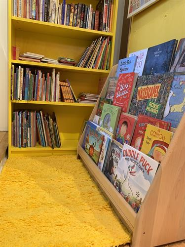 Our newly painted section for younger readers