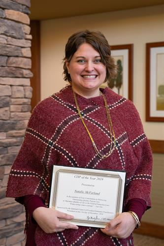 Natalie McFarland, Executive Director, National Certified Dementia Practioner of the Year 2019