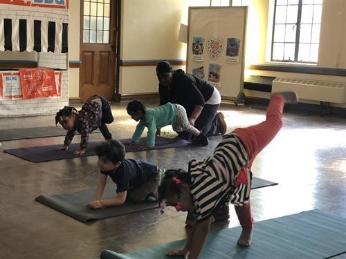 Kid Yoga!