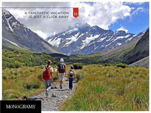 Travel at your own pace with Monograms tours