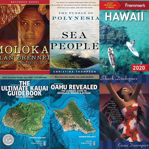 A few books on the Hawaii reading list.