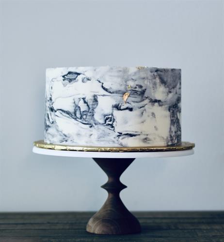 Butter Cream Flour's signature marble buttercream (no fondant here!)
