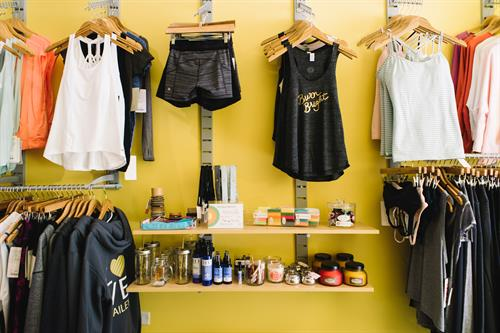 Visit our TDM boutique for exercise/activewear apparel