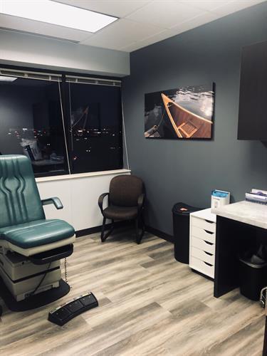 New Maple Grove Location Podiatry Exam Room
