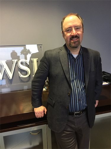 Peter Berson at WSI World Headquarters.