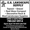 EA landscape supply