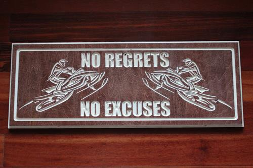 In Memory of Jeremy Snook - No Regrets No Excuses