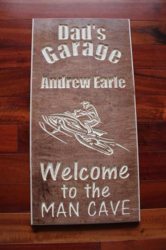 Snowmobile Garage