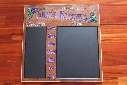 Groceries Chalkboard