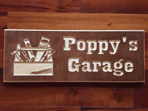 Poppy's Garage Tools
