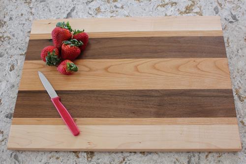 Cutting Board - Maple-Cherry-Walnut Combination 1