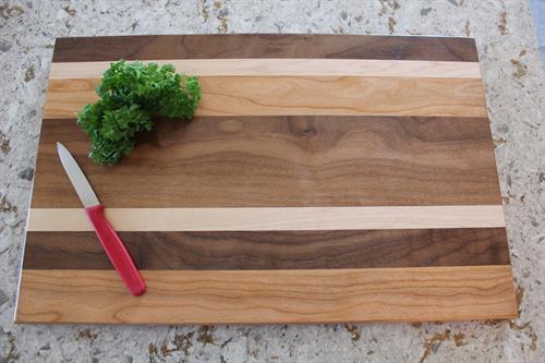 Cutting Board - Cherry-Walnut-Maple Combination 6