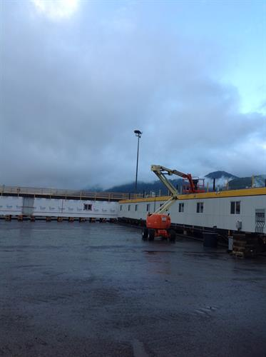 Atco Kitimat LNG. Air Conditioning Installation
