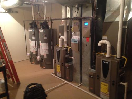 Furnace and Hotwater Tank Replacements
