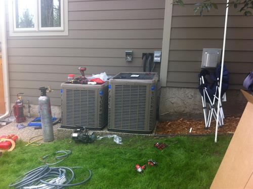 Air Conditioning Instaltion