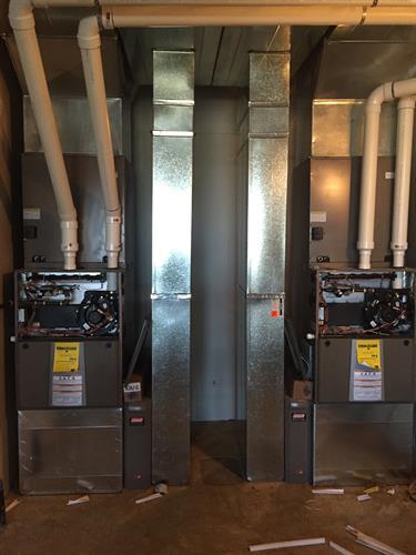 New Home HVAC Installations