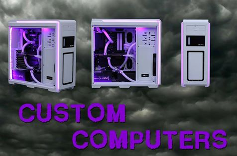 At TRINUS we build Custom-made Computers. Come Visit Us & See for Yourself!!