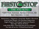 First Stop Tire and Auto