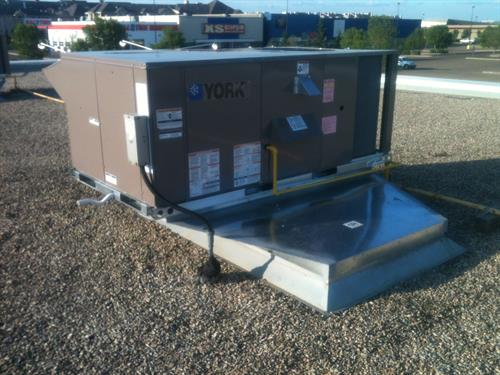 York roof top unit installation