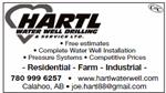 Hartl Water Well Drilling & Service Ltd.