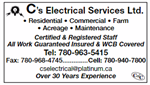 C's Electrical Services Ltd.