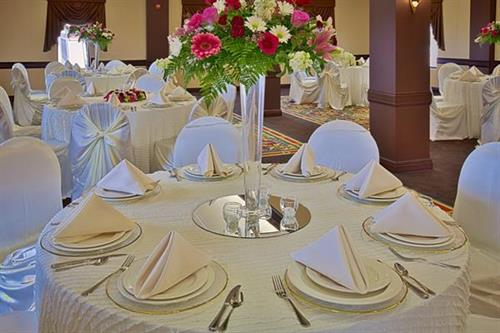 Table Set up in North Room