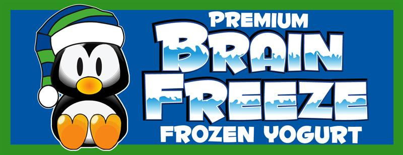 Brain Freeze Premium Frozen Yogurt
