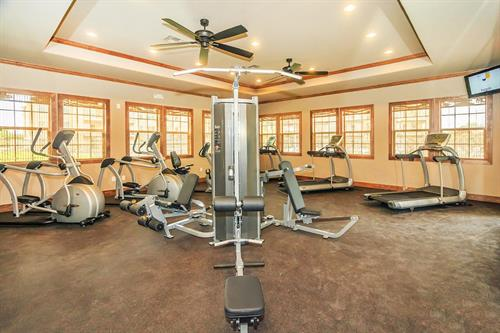 24 Hour State-Of-The-Art Fitness Center