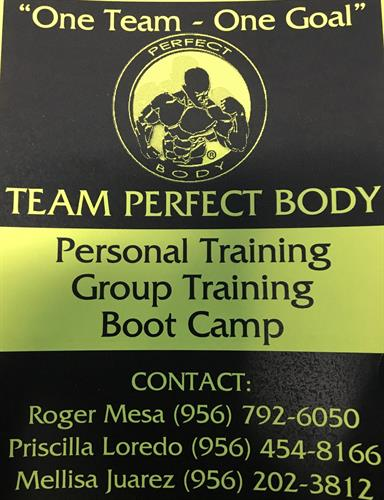 Personal Training, Group Training and Bootcamp