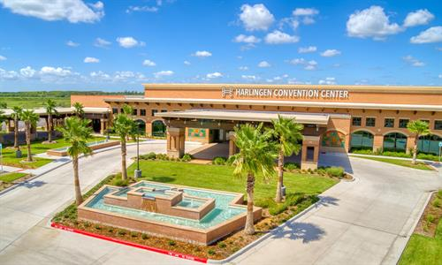 Harlingen Convention Center Connected to Hotel