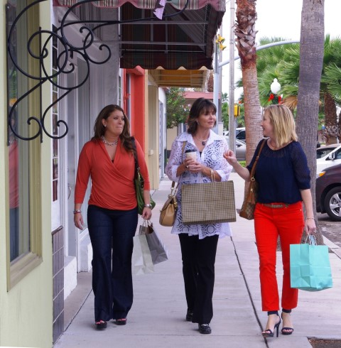 Shopping on Jackson Street