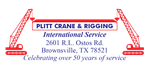 Plitt Crane & Rigging International Service