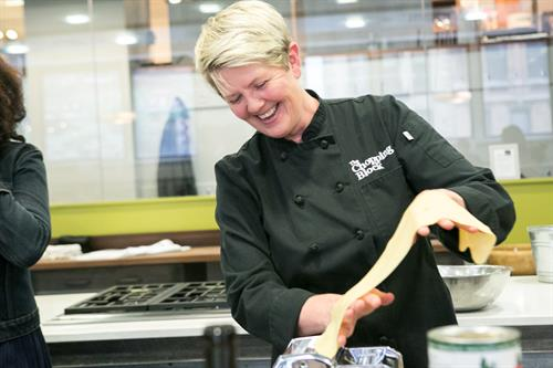 Owner/Chef Shelley Young
