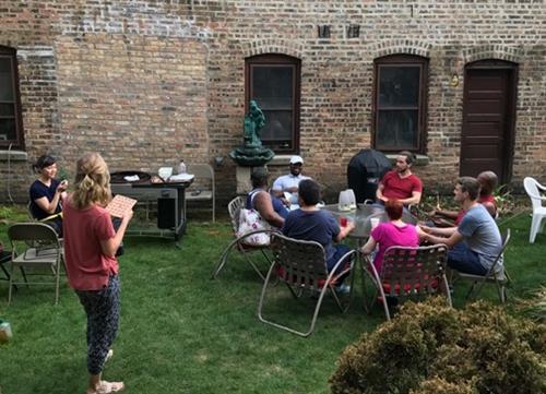 Summer BBQ at Pat Crowley